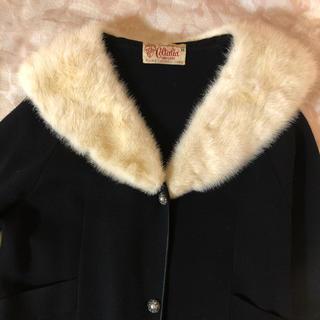 ロキエ(Lochie)の50's〜60's vintage knit coat(毛皮/ファーコート)