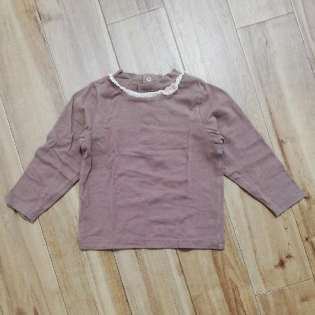 Souris(スーリー)のスーリー 長そで 女の子 90センチ キッズ/ベビー/マタニティのキッズ服女の子用(90cm~)(Tシャツ/カットソー)の商品写真