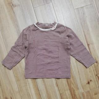 スーリー(Souris)のスーリー 長そで 女の子 90センチ(Tシャツ/カットソー)