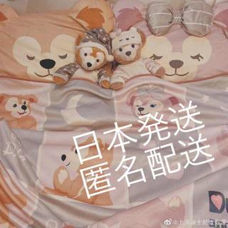 上海ディズニー ダッフィー シェリーメイ 毛布ブランケット