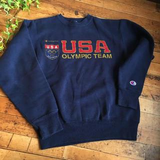 チャンピオン(Champion)のレア champion アトランタ USA オリンピックチーム スウェット(トレーナー/スウェット)