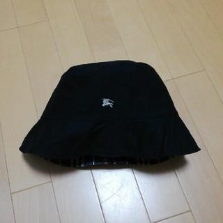 バーバリーブルーレーベル(BURBERRY BLUE LABEL)のバーバリー帽子(リバーシブル)(ハット)