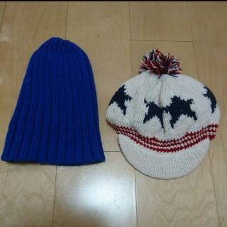 ジーユー(GU)のGU★ニット帽 セット(帽子)