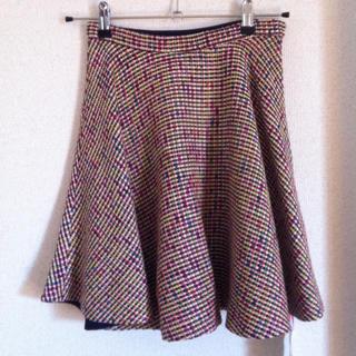 チェスティ(Chesty)のChesty ミックスツィード スカート(ミニスカート)