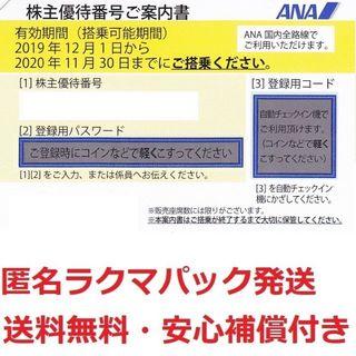 ANA株主半額券73枚セット★補償付き発送★枚数変更も可(航空券)