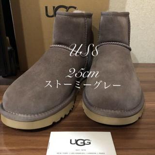 アグ(UGG)のUGG CLASSIC MINI II ストーミーグレー 25cm 正規品(ブーツ)
