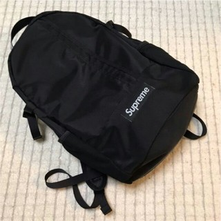 Supreme Backpack Black 18SS