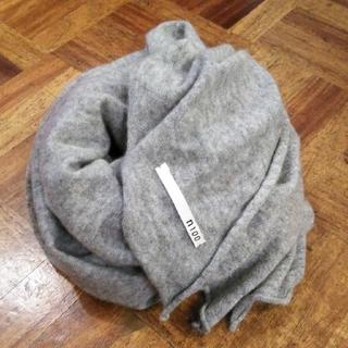 マーガレットハウエル(MARGARET HOWELL)の美品 n100✨エヌワンハンドレッド カシミヤ100% 大判ストール 肩掛け(ストール/パシュミナ)