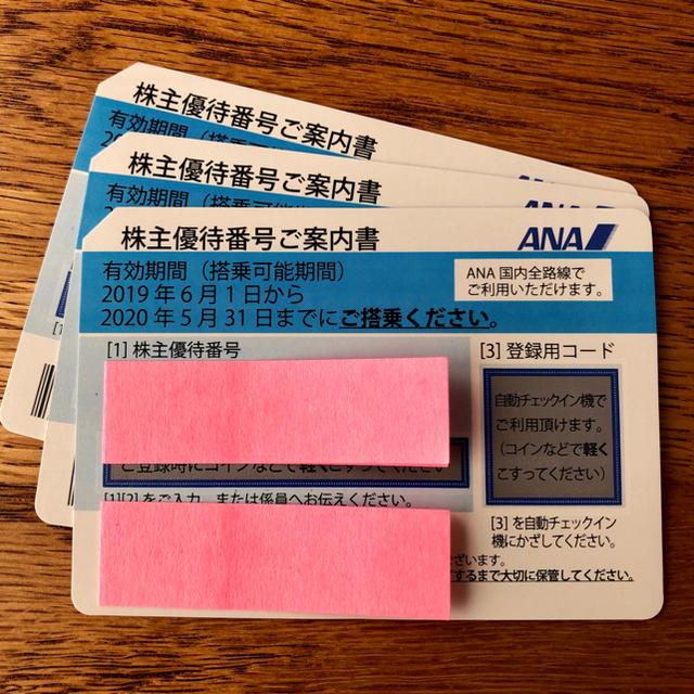 ANA(全日本空輸)(エーエヌエー(ゼンニッポンクウユ))のANA全日空の株主優待券 チケットの優待券/割引券(その他)の商品写真