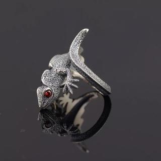 ピュアスターリングシルバー925  トカゲのリング(リング(指輪))