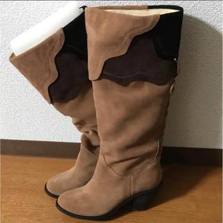 値下げ☆新品未使用☆スウェードブーツ(ブーツ)