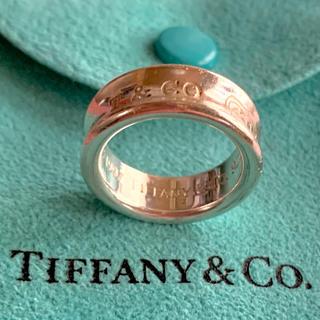 Tiffany & Co. - ★美品仕上★ Tiffany&Co. ティファニー 1837 ナローリング10号