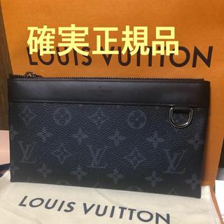 LOUIS VUITTON - ルイヴィトン エクリプス ポシェット・ディスカバリーPM 長財布