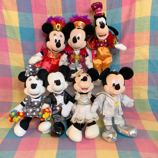 Disney(ディズニー)のワンマンぬいば4体セット♡ エンタメ/ホビーのおもちゃ/ぬいぐるみ(ぬいぐるみ)の商品写真