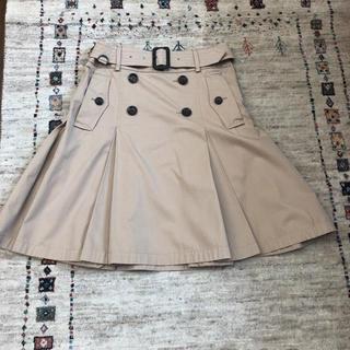 バーバリーブラックレーベル(BURBERRY BLACK LABEL)のバーバリー ブルーレーベル サイズ40(ひざ丈スカート)
