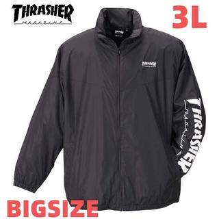 スラッシャー(THRASHER)のスラッシャー ジャケット 大きいサイズ メンズ 3L 送料無料 新品 裏地 起毛(ブルゾン)