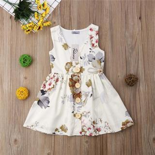 ザラキッズ(ZARA KIDS)の韓国子ども服 ベビー 花柄ワンピース 海外子ども服(ワンピース)
