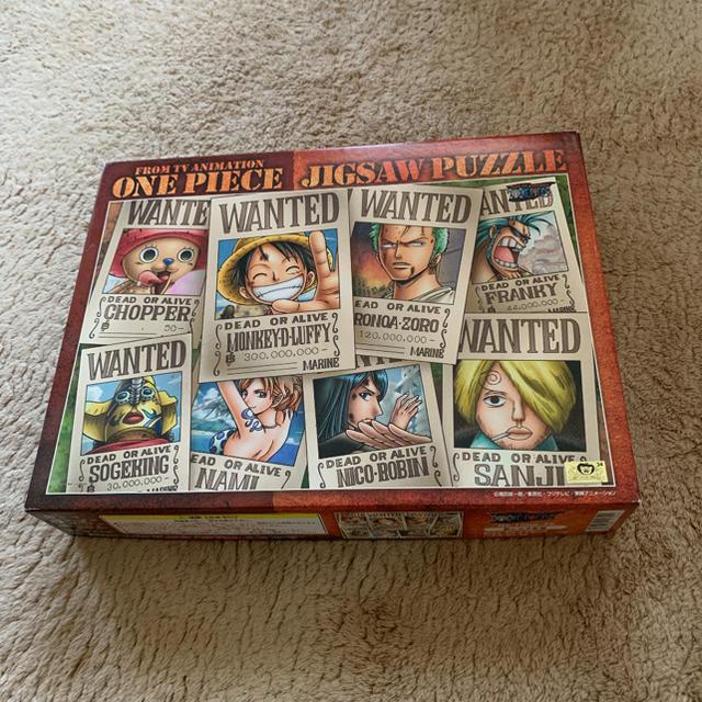 ワンピース 1000ピースパズル エンタメ/ホビーのおもちゃ/ぬいぐるみ(キャラクターグッズ)の商品写真
