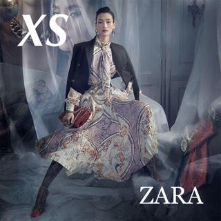 ZARA - 新品 入手困難 ZARA XS COLLECTION シリーズ ロングワンピース