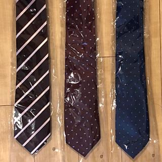 アオキ(AOKI)のAOKI  ネクタイ 3本セット 洗濯可(ネクタイ)