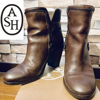 アッシュ(ASH)のASH ショートブーツ  ブラウン(ブーツ)