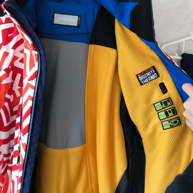 DESCENTE(デサント)のPhenix スキーウェア サイズ L スポーツ/アウトドアのスキー(ウエア)の商品写真