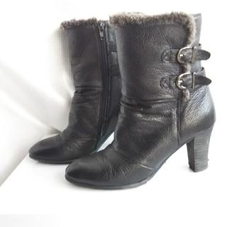マドラス(madras)の最終価格*madras MODELLO*シュリンクショートブーツ[23cm]黒(ブーツ)