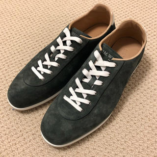 ジェーエムウエストン(J.M. WESTON)の定価8.3万円 新品 J.M. Weston スニーカー 革靴 US7.5(スニーカー)