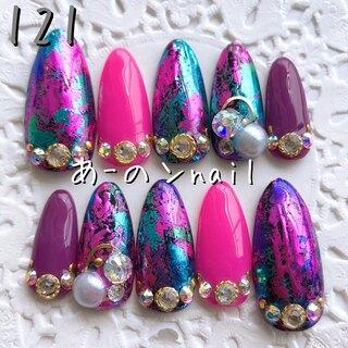 送料&カラー変更1色無料«121»ジェルネイルチップ♡*゜