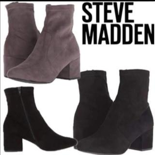 スティーブマデン(Steve Madden)のSTEVE MADDEN・ストレッチ・ソックスブーティー(ブーツ)
