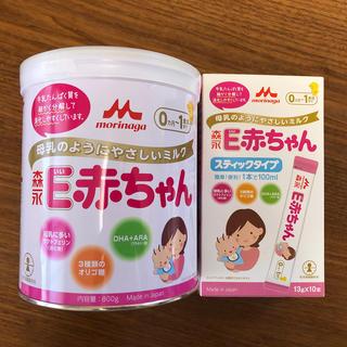 モリナガニュウギョウ(森永乳業)の粉ミルク E赤ちゃん セット(その他)
