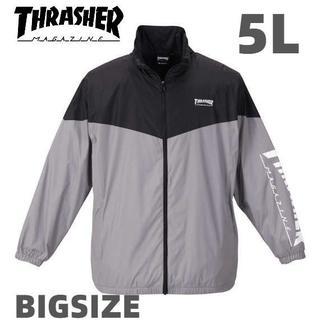 スラッシャー(THRASHER)のスラッシャー ジャケット 大きいサイズ メンズ 5L 送料無料 新品 裏地 起毛(ブルゾン)