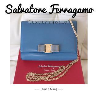 Salvatore Ferragamo - ♥️正規品♥️フェラガモ♡ショルダーバッグ♡