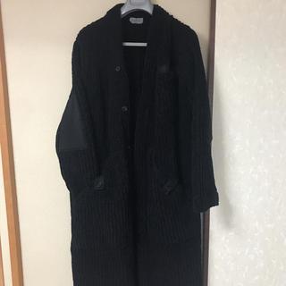 ヨウジヤマモト(Yohji Yamamoto)のヨウジヤマモト yohji yamamoto ニットコート 18AW(ノーカラージャケット)