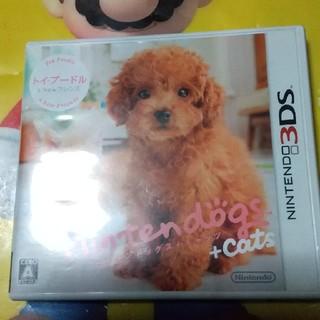 ニンテンドー3DS - nintendogs + cats トイ・プードル&Newフレンズ 3DS