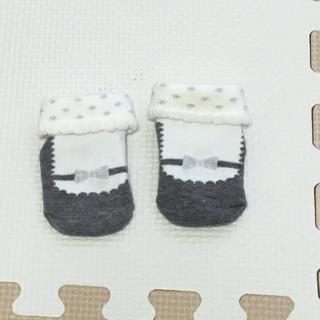 プティマイン(petit main)のプチマインベビー用靴下 未使用(靴下/タイツ)
