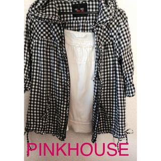 ピンクハウス(PINK HOUSE)のピンクハウスパーカー キャミソールセット(セット/コーデ)