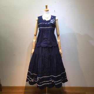 PINK HOUSE - 2019年ブラウス&スカート定価8万3600円  ピンクハウス