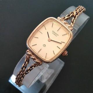セイコー(SEIKO)のセイコー 腕時計 レディース 電池交換 ベルト洗浄 レトロ 動作品 (417)(腕時計)