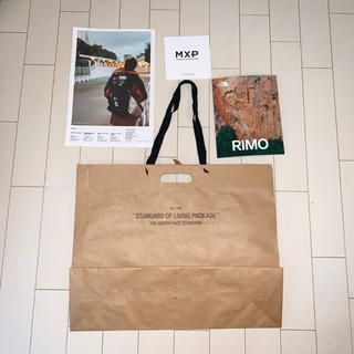 ザノースフェイス(THE NORTH FACE)の〈新品〉THE NORTH FACE standard 紙袋 ショッパー 特大(ショップ袋)