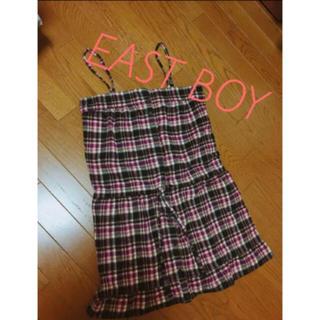 イーストボーイ(EASTBOY)のEAST BOY♡チェックワンピ(ひざ丈ワンピース)