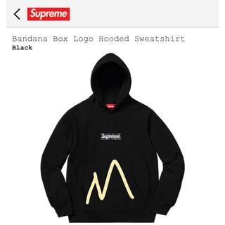 Supreme - supreme box logo hooded M
