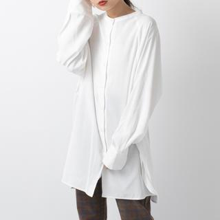 mystic - mystic BACKリボンロングシャツ
