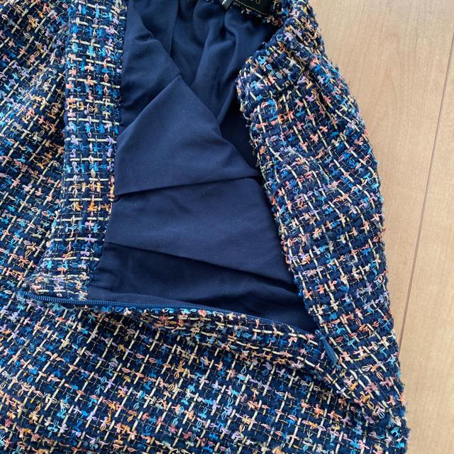 MERCURYDUO(マーキュリーデュオ)のマーキュリーデュオ ツイードタイトスカート レディースのスカート(ミニスカート)の商品写真
