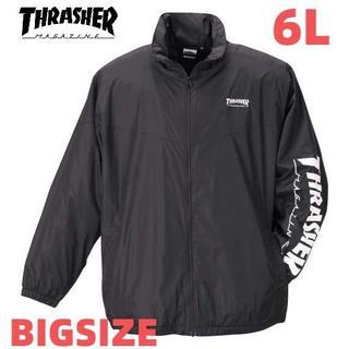 スラッシャー(THRASHER)のスラッシャー ジャケット 大きいサイズ メンズ 6L 送料無料 新品 裏地 起毛(ブルゾン)