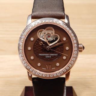 FREDERIQUE CONSTANT - 美品 フレデリックコンスタント ダイヤモンド ウォッチ 時計 裏スケ