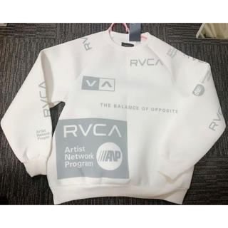 RVCA - RVCA トレーナー 白 新品未使用 タグ付き
