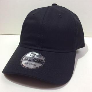 ニューエラー(NEW ERA)のNEW ERA CAP BLACK アジャスターキャップ 黒(キャップ)
