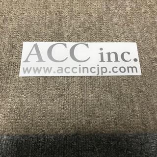 ACC エアサス ステッカー