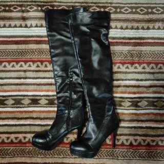 Styleblock ニーハイブーツ 黒(ブーツ)
